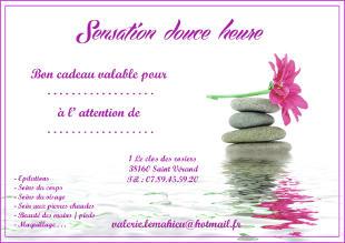 Bon cadeau pour massages et soins de beauté